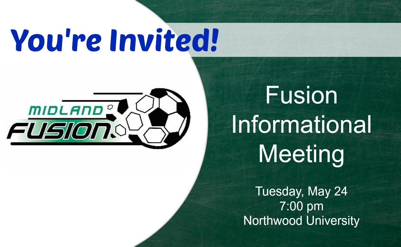 Fusion Informational Meetings set...