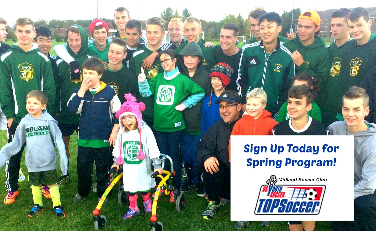 TOPSoccer Spring Program