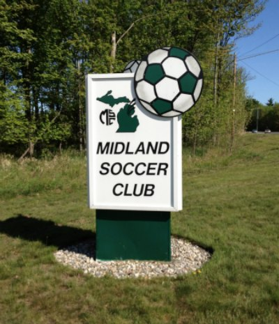 Midland Soccer Club Entrance